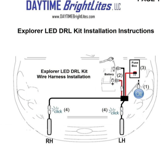 Explorer DRL Installation Instructions.pdf (page 1 of 2) 2016 05 19 11 08 02 new drl kit installed ford explorer and ford ranger forums